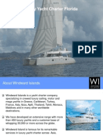 Luxury Yacht Charter Florida - Windward Islands