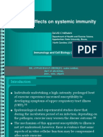 Exercise Effects on Systemic Immunity
