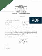 Glick Notice of Claim