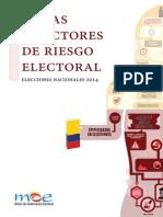 Mapa de Riesgos Electorales MOE