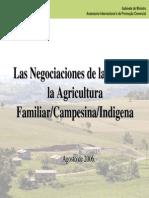 Las Negociaciones de La OMC y Los Campesinos