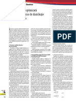 Dimensionarea Optimizata a Retelelor Electrice de Distributie La Joasa Tensiune