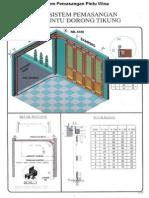 Sistem Pemasangan Pintu Wina