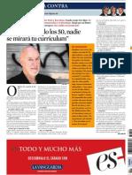Jack Gaitelli Contra de La Vanguardia 10-06-2013