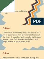 elyssa and avery- cubism presentation
