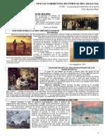 Nuevas Corrientes Pictricas Del Siglo Xix