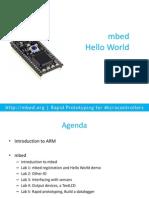 Mbed.org Media Uploads Chris Mbed Hello World v2.0
