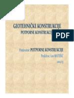 Geoteh Konstr P6 Potporne II Dio