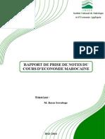 Rapport Eco Mar
