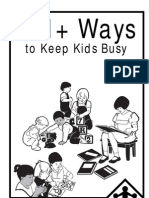 101 + Ways to Keep Kids Busy