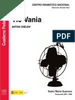 8- Tío Vania (cuaderno pedagógico)