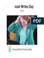 Vermont Writes Day Anthology 2014