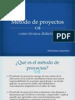 Método de proyectos como técnica didáctica