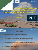 Ubinas 2013-Foro Peligros Geológicos