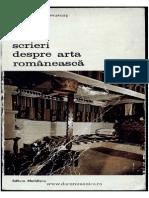 135900346 Scrieri Despre Arta Romaneasca Alexandru Samurcas