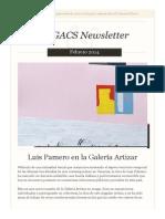Newsletter nº17. Febrero 2014