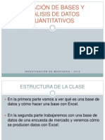 CREACIÓN DE BASES Y ANÁLISIS DE DATOS CUANTITATIVOS