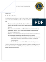 Offical Club Letter to Lion Watts v2.0