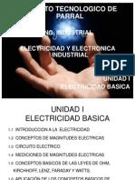 EEI Unidad I Electricidad y Electronica