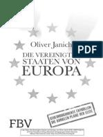 Janich, Oliver - Vereinigte Staaten Von Europa