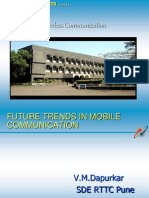 Future Trends in Mobile Communication