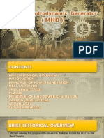 MHD Generator Presentation