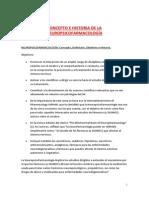 Tema 1. Concepto e Historia NPSF.