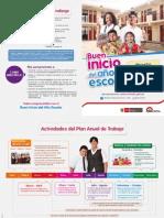 Buen Inicio del año escolar 2014 - Cartilla informativa MINEDU
