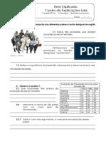 B.3 - Teste diagnóstico - Os serviços e o turismo (1)