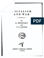 Grigorii Zinoviev - Socialism and War