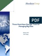 Big Data Compression Management
