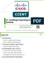 ICND I (100-101) 07 - Installing & Operating Cisco LAN Switches.pptx