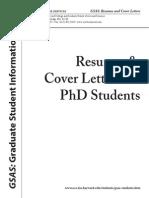 Phd Resume Final