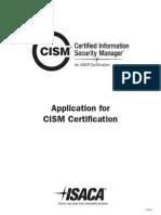 CISM Application