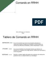 Tablero de Comando en RRHH.ppt