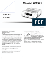 Manual Microline 420