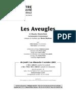 Les Aveugles Marleau