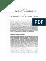 Chris Rojek - Modernity and Leisure