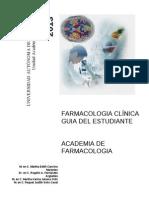 2013 Guia Del Estudiante Farmacologia Clinica