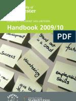 Contact Student Volunteers - handbook
