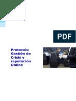 Protocolo Gestión de Crisis y reputación Online
