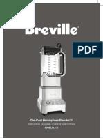 Breville 800BLXL Manual