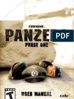 Codename - Panzers - Phase One - Manual - PC