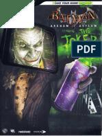 Batman Arkham Asylum - Bradygames Official Guide