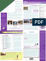 GEAR UP Newsletter Fall 2009