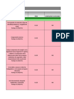 AUDITORIA-MATRIZ PLAN DE ACTIVIDADES formato para trabajar en simulacros de autoauditorías