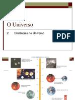O Universo - Distâncias no Universo