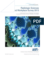 ASRT 2013 Radiologic Sciences Staffing and Workplace Survey