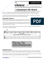 Soloing Over a Dominant 7th Chord