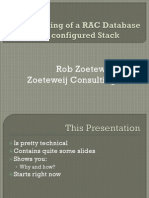Provisioning of RAC Database on configured Stack - OOW 2009 - Session S309102